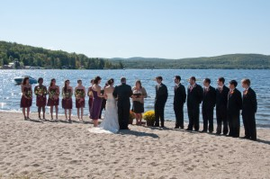 Weddings, family reunions and other events, on the beach or in a historic lodge