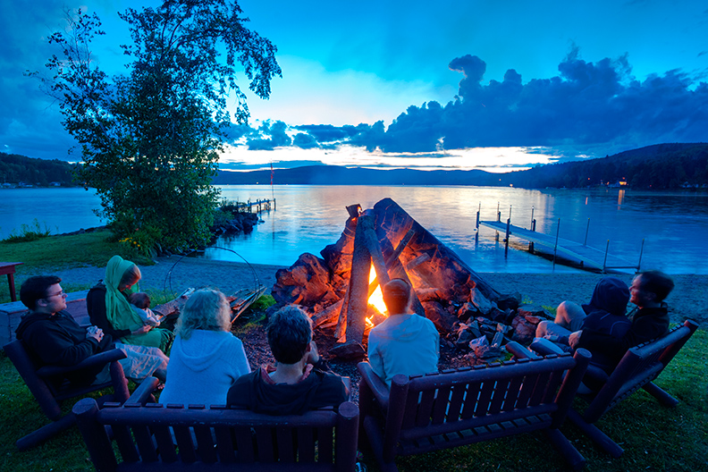 Jackson's Lodge Campfire featured in Image Magazine