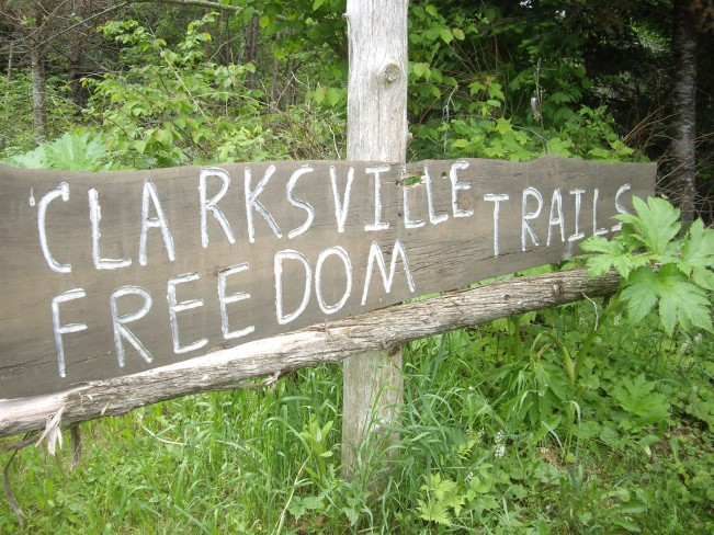 Hiking in New Hampshire and Vermont; Clarksville Freedom Trails; wheelchair accessible hiking