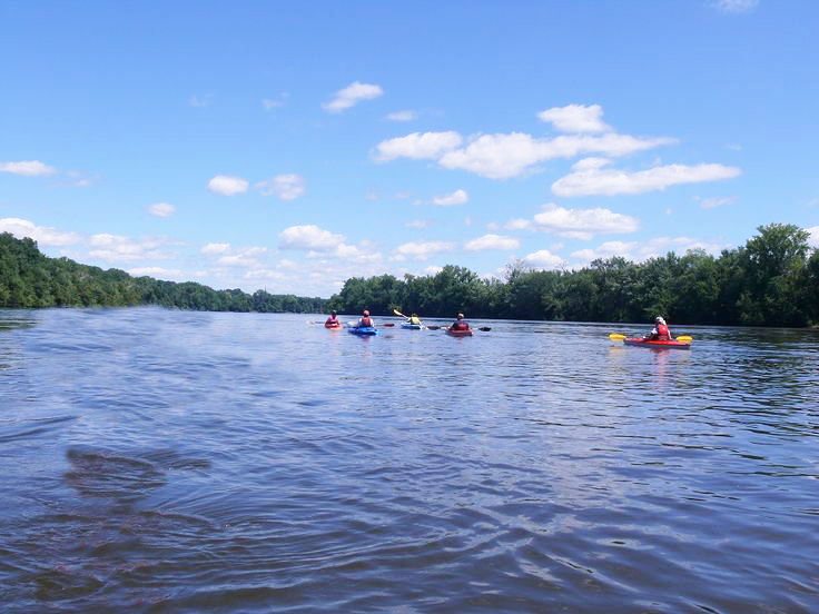 Kayaking on the Connecticut River; Connecticut River