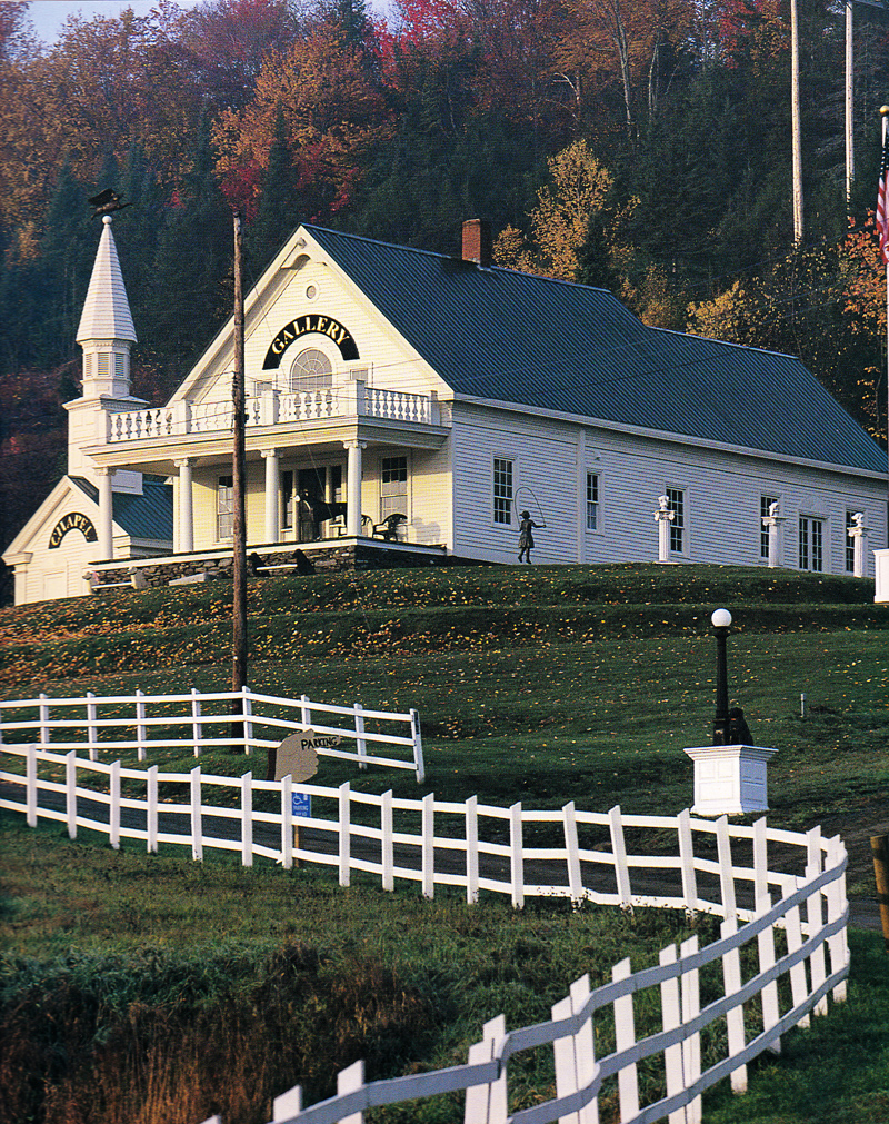 Dog Mountain Stephen Huneck Gallery and Chapel