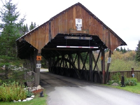 Covered Bridges in new Hampshire; Happy Corner Covered Bridge