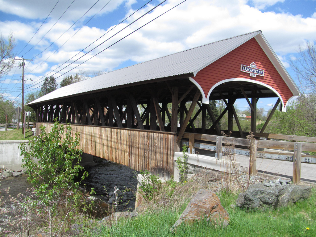 Covered Bridges in New Hampshire; Mechanic St. Covered Bridge