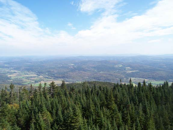 Hiking in Vermont; Monadnock Mountain