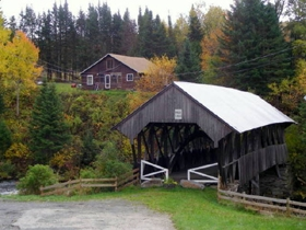 covered bridges near northern vermont