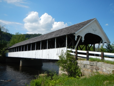 Covered Bridges in New Hampshire; Stark Covered Bridge