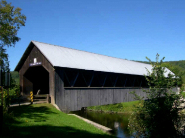 Covered Bridges in New Hampshire; Columbia Covered Bridge