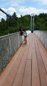 Parc de la Gorge de Coaticook; Coaticook, Quebec; Longest Suspended Footbridge in the World