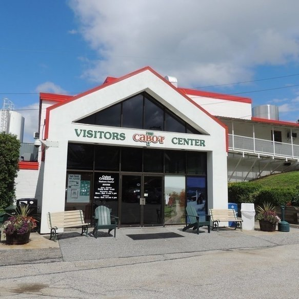 Cabot Cheese Factory Tours in Stowe, Vermont