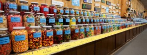 Chutter's Longest Candy Counter in the World