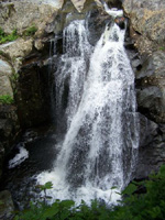 Waterfalls in New Hampshire; Garfield Falls Pittsburg, NH