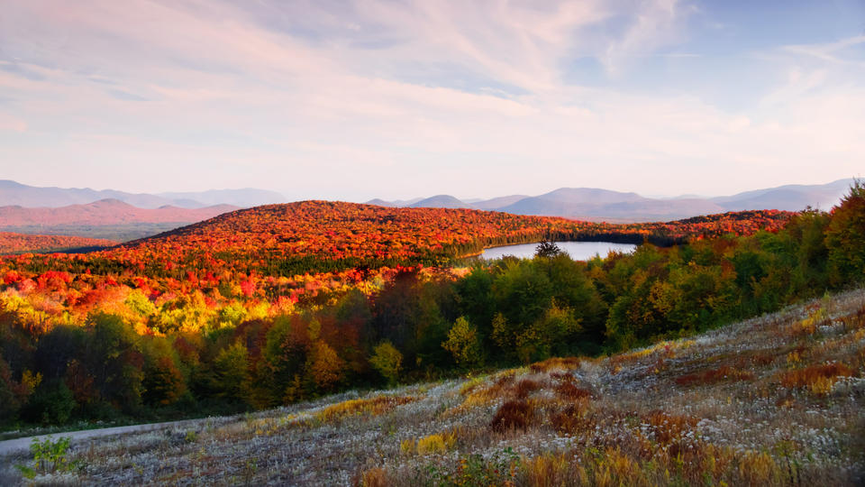 Lewis Pond Overlook Vermont; Silvio O. Conte National Fish & Wildlife Refuge