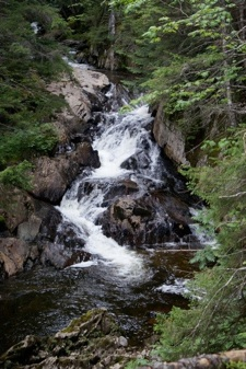 Waterfalls in New Hampshire; Little Hellgate Falls